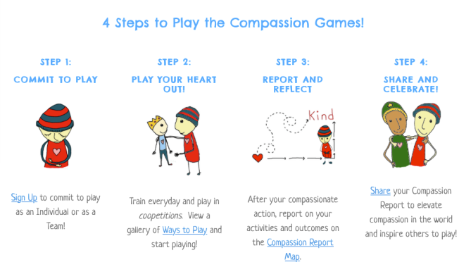 The Compassion Games 2015 are linked to the Parliament