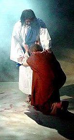 kneel-jesus