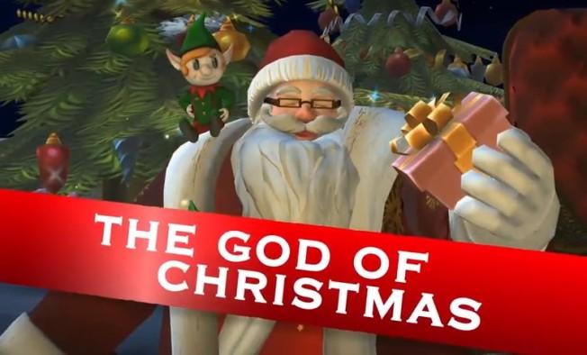 Fight+of+Gods+Santa
