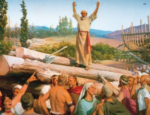 Noah preaches in vain