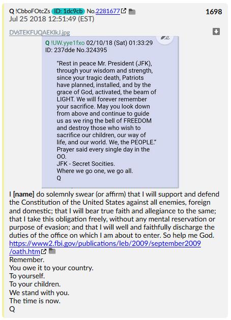 qanon oath